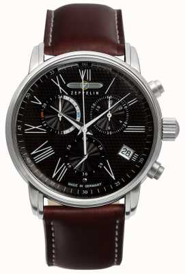 Zeppelin Transatlantique lz127 chronographe double temps 7694-2