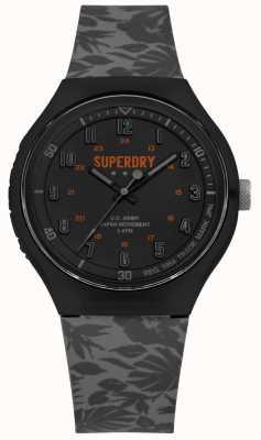Superdry Urban xl tropic camo gris bracelet en silicone SYG225E