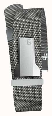 Klokers Klink 05 acier gris milano sangle seulement 20mm de large 230mm de long KLINK-05-MC1