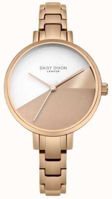 Daisy Dixon Mesdames ava rose or trois couleurs cadran bracelet en or rose DD065RGM