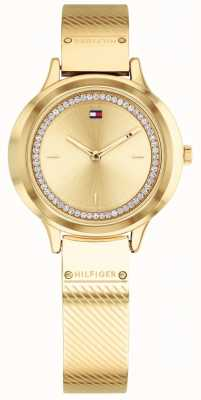 Tommy Hilfiger Montre femme or rose olivia 1781910