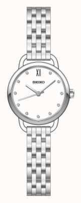 Seiko Womens Recraft ton argent bracelet SUR697P1