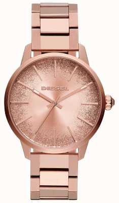 Diesel Montre bracelet à cadran scintillant pour femme, castilla, doré et doré DZ5567