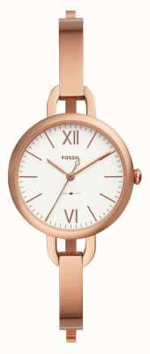 Fossil Femme Annette rose bracelet en or rose ES4391