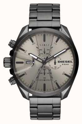 Diesel Mens ms9 chrono bracelet en acier inoxydable DZ4484