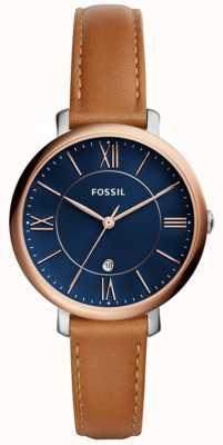 Fossil Bracelet en cuir jacqueline pour femme ES4274
