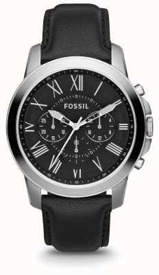Fossil Bracelet en cuir pour homme FS4812IE