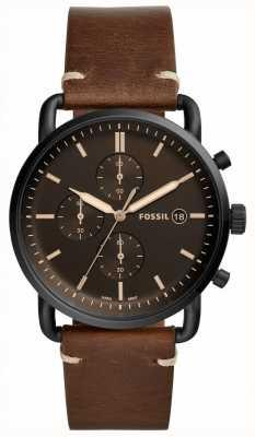 Fossil Bracelet en cuir pour homme FS5403