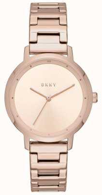 DKNY Womens le bracelet en acier inoxydable moderniste NY2637