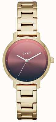 DKNY Womens le bracelet en acier inoxydable moderniste NY2737