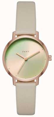 DKNY Womens le bracelet en cuir moderniste NY2740