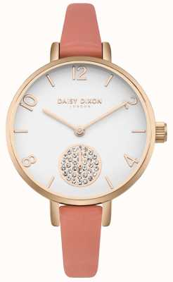 Daisy Dixon Bracelet alice en cuir rose pour femme DD0750RG