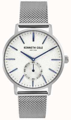 Kenneth Cole Montre subdial en acier inoxydable pour homme KC50055002