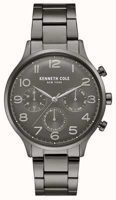 Kenneth Cole Montre chronographe pour homme en bronze plaqué KC15185002