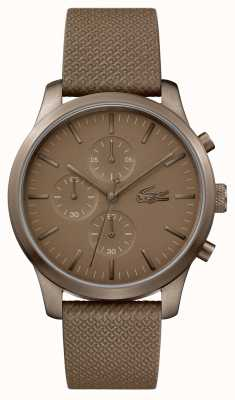Lacoste Mens 12.12 85e anniversaire kaki montre 2010949