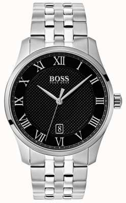 BOSS Master | acier inoxydable | cadran noir 1513588