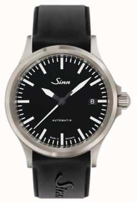 Sinn 556 i sport bracelet en silicone saphir noir 556.010 SILICONE
