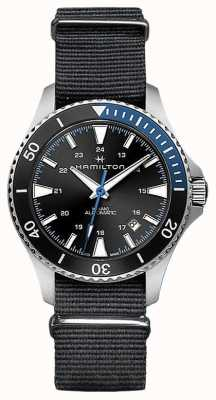 Hamilton Khaki scuba automatique noir nato sangle H82315931