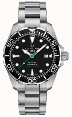 Certina Mens ds action divers powermatic 80 conservation des tortues de mer C0324071105110