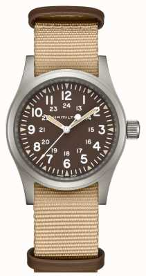 Hamilton Khaki champ mécanique nato sangle H69439901