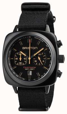 Briston | clubmaster sport noir mat | 18142.PBAM.BS.4.NB