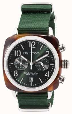 Briston Bracelet Clubmaster sport icônes vert 17142.SA.TS.10.NBG