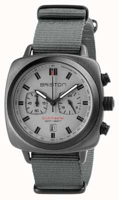 Briston Clubmaster sport nato sangle gris 18142.SPG.SP.12.NG