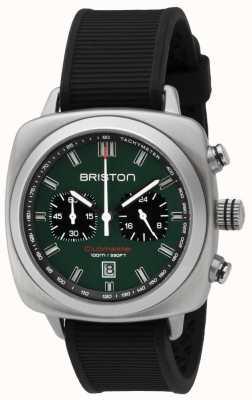 Briston Clubmaster sport britannique vert mat noir bracelet 16142.S.SP.16.RB