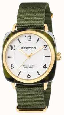 Briston Bracelet clubmaster vert bracelet vert blanc 18536.PYA.TG.2.NGA