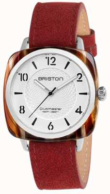 Briston Bracelet Clubmaster chic bleu bracelet blanc 18536.SA.BE.2G.LNR