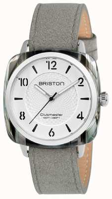 Briston Clubmaster Mesdames chic bracelet gris cadran blanc 18536.SA.GRE.2G.LNG