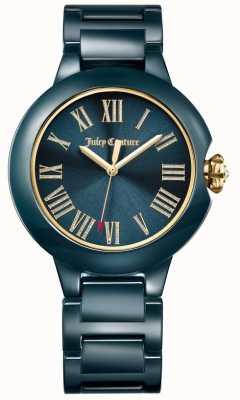 Juicy Couture Womens noir burbank montre en céramique 1901653