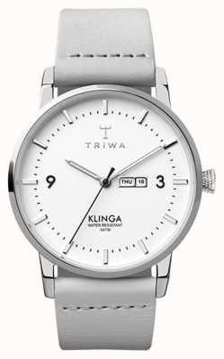 Triwa Klinga des neiges gris clair TR.KLST109-CL111512
