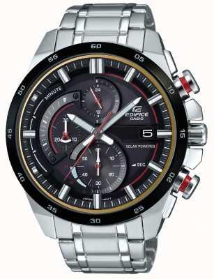 Casio Montre homme chronographe 3d à énergie solaire EQS-600DB-1A4UEF