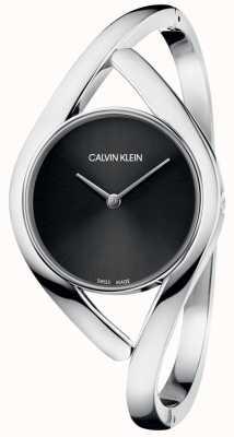 Calvin Klein Mesdames bracelet montre partie noire cadran K8U2M111