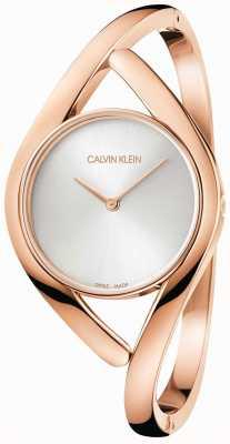 Calvin Klein Bracelet en acier inoxydable rose et argent K8U2S616
