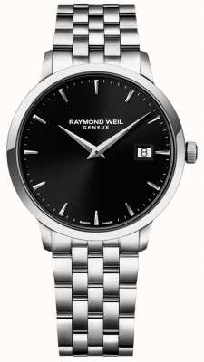 Raymond Weil Mens toccata acier inoxydable cadran noir 5488-ST-20001