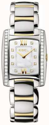 EBEL Ensemble de deux diamants en or jaune 18 carats brasilia pour femme 1215769