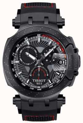 Tissot T-course motogp édition spéciale bracelet en caoutchouc noir T1154173706104