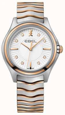 EBEL Femmes Diamond Diamond Sunray cadran deux tons or rose 1216306