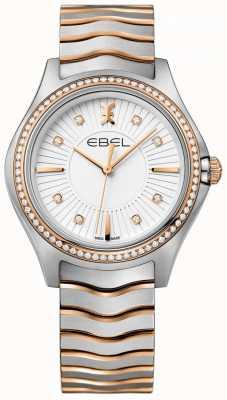 EBEL Bracelet diamant deux tons blanc avec diamants 1216319