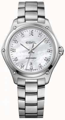 EBEL Diamant découverte femme nacre acier inoxydable 1216394