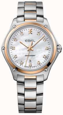 EBEL Diamant découverte femme nacre acier inoxydable 1216397