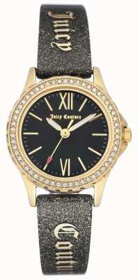 Juicy Couture Étui pour femme, ton or noir, bracelet juteux JC-1068BKBK