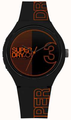Superdry Imprimé Urban xl fusion mat orange noir SYG239BO