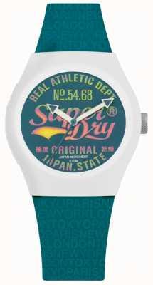 Superdry Cadran et bracelet sarcelle de paradis urbain SYL249AU
