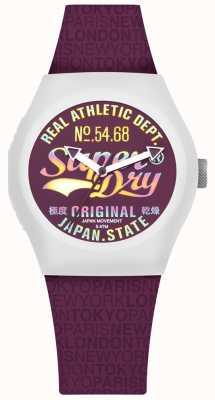 Superdry Cadran mullberry et bracelet urbain SYL249V
