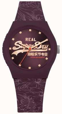Superdry Cadran violet feuille soleil violet SYL248V