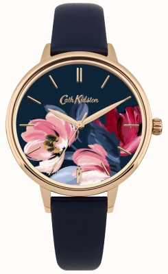 Cath Kidston Cadran floral montre femme CKL050URG