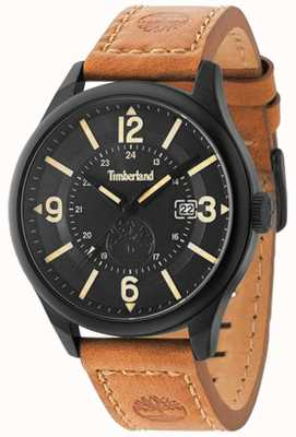 Timberland Blake cuir brun bracelet noir affaire et cadran TBL.14645JSB/02